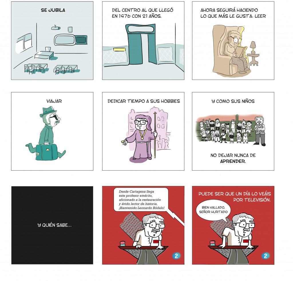 Comic Los Dolores La 2